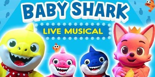 Desconto! Baby Shark Live Musical no Teatro Caritas(Zona Leste de SP)