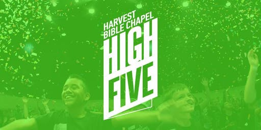 High Five K-5 Registration