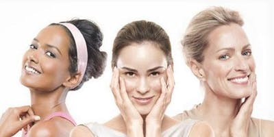 Facial skin care class with MARY KAY