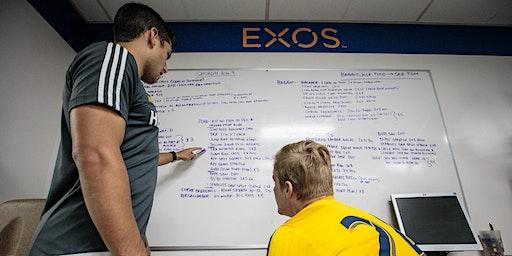 EXOS Performance Mentorship Phase 1 - Milan, Italy