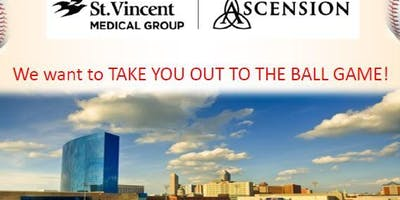 St.Vincent Medical Group Baseball Outing