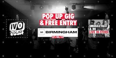 SmuggzyAce & RK LIVE @ Sports Direct Birmingham Bullring