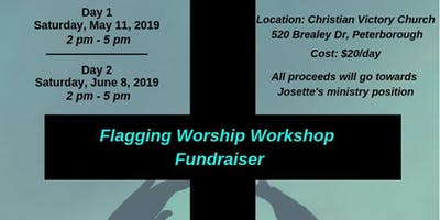 Flagging Worship Workshop Fundraiser