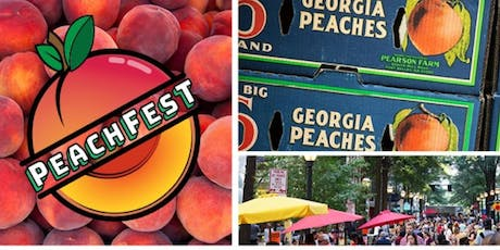 PEACHFEST ATLANTA ON JULY 21 AT PEACHTREE CENTER tickets