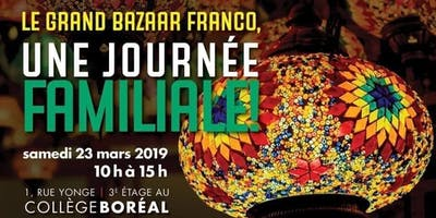 Grand Bazaar francophone - Journée familiale
