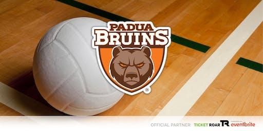 Padua Franciscan - Lady Bruin Volleyball Camp (Grade 4-5 Girls)