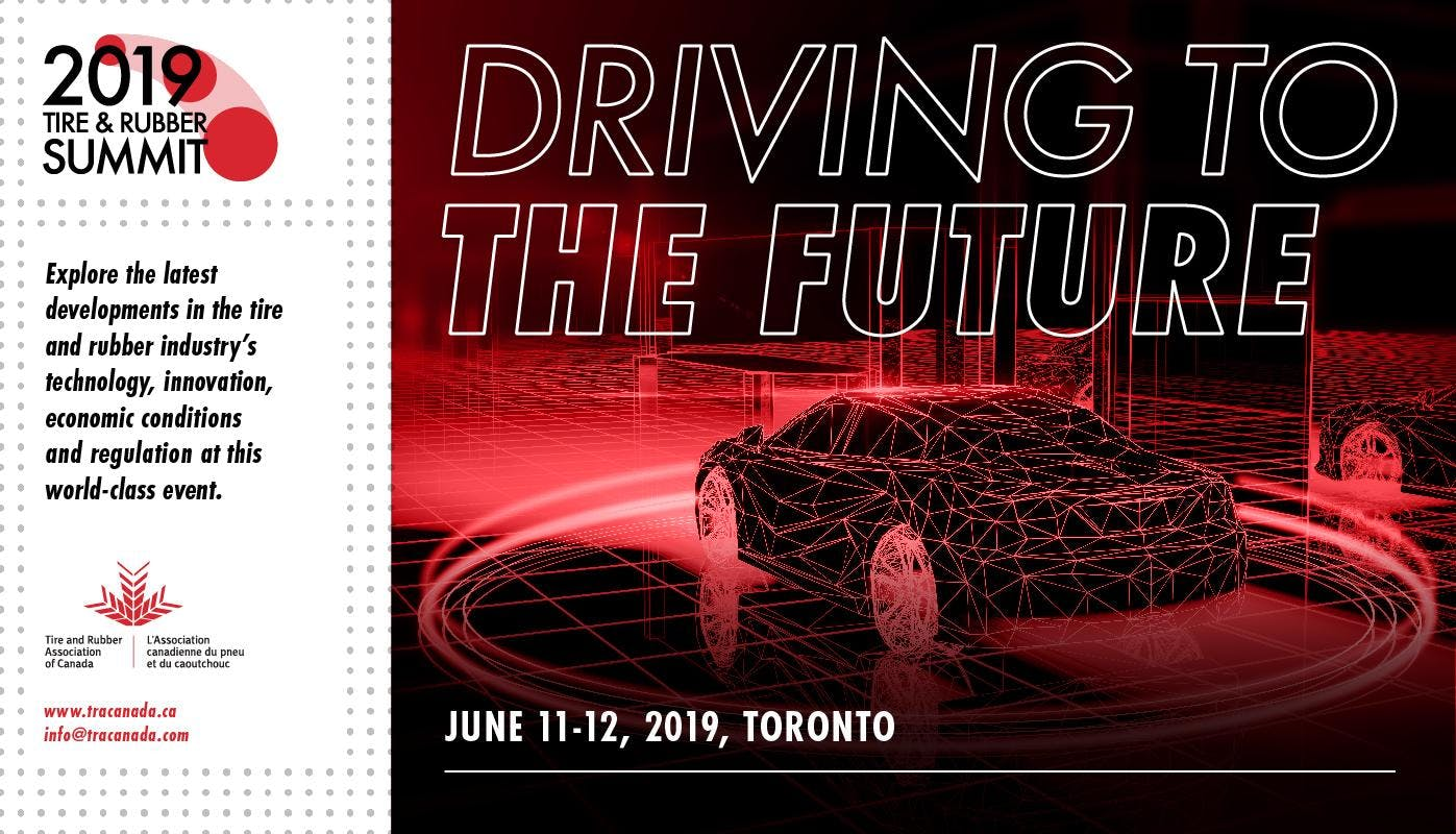 2019 Tire and Rubber Summit - Driving to the Future