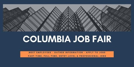 Columbia Job Fair - September 11, 2019 Job Fairs & Hiring Events in Columbia SC tickets