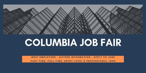 Columbia Job Fair - September 11, 2019 Job Fairs & Hiring Events in Columbia SC