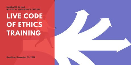Code of Ethics Training - South Service Center tickets
