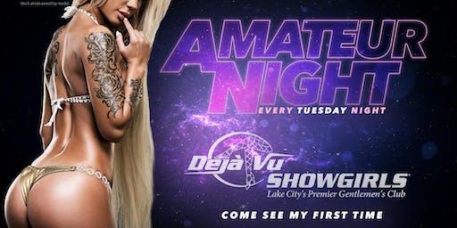 Amateur Night Tuesdays at Deja Vu Lake City!