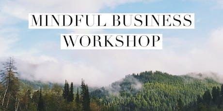 Mindful Business Workshop tickets