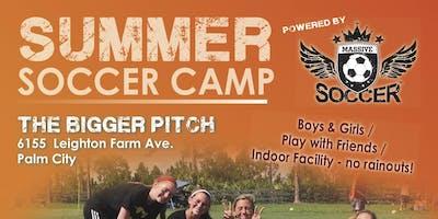 MASSIVE SOCCER SUMMER CAMP ONE - June 17 - 21, 2019