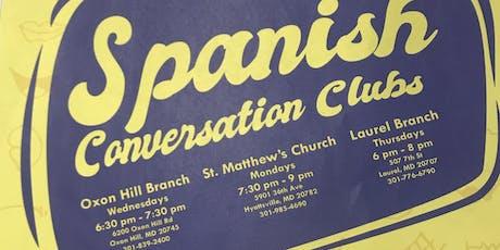Spanish Conversation Club  tickets