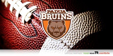Padua Franciscan - Bruin Football Camp (Grade 6-8 Boys) tickets