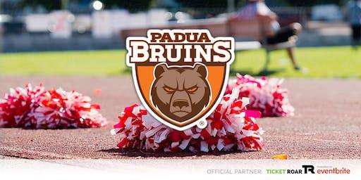 Padua Franciscan - Bruin Cheerleading Camp