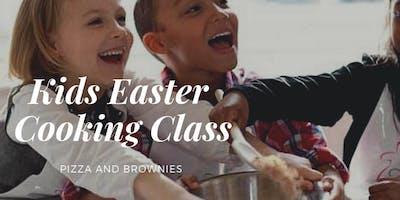 Kids Cooking Pizza & Brownie Easter Half Term