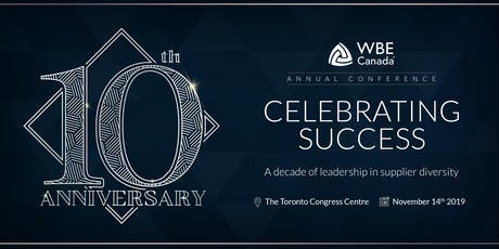 Celebrating Success: A Decade of Leadership in Supplier Diversity tickets