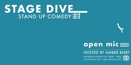 Stage Dive | Stand Up Open Mic tickets