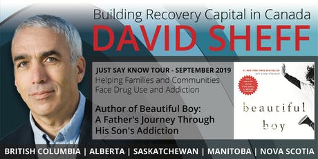 Solutions to addiction in the family with Beautiful Boy author David Sheff tickets