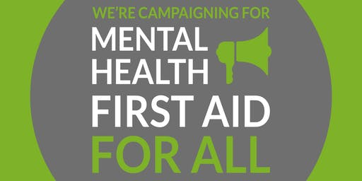 Two Day Adult Mental Health First Aid Training Course