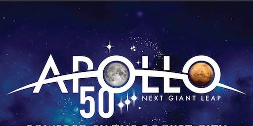Apollo Moon Landing Pre-Anniversary Party
