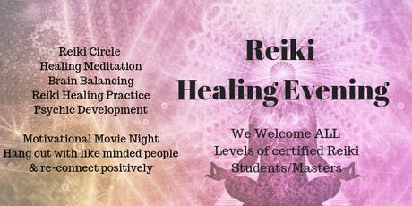 Reiki Share Kapiti & Movie Night tickets