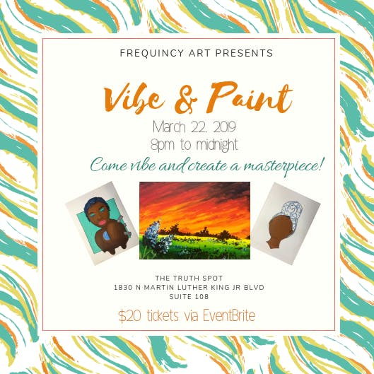 FreQuincy Vibe and Paint Party