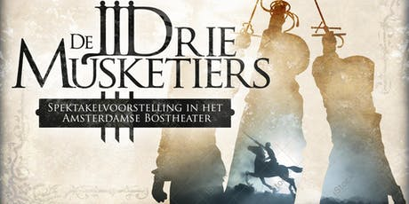DE DRIE MUSKETIERS - 13 Juli tickets