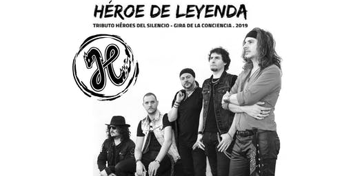 HÉROE DE LEYENDA. Tributo a Héroes del silencio en Córdoba.