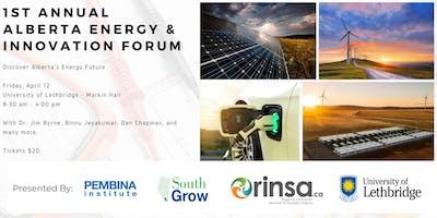 1st Annual Alberta Energy & Innovation Forum