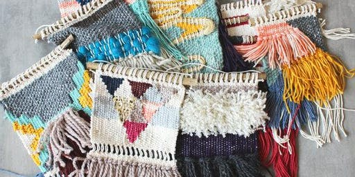 Beginning Weaving Workshop with Lindsey Campbell of Hello Hydrangea