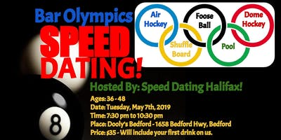 Bar Olympics - Speed Dating - Ages 36-48