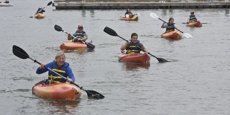 Paddle & Sail Days: Learn to Kayak on the Foss - Session I tickets