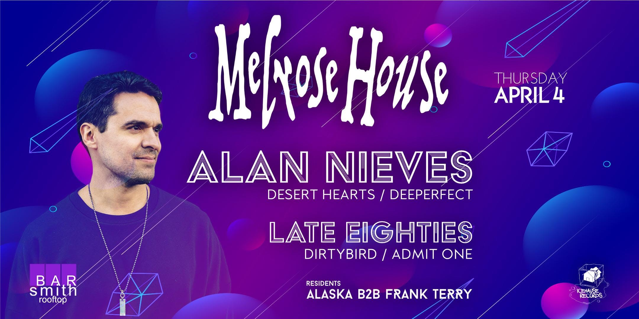 Melrose House with Alan Nieves and Late Eighties