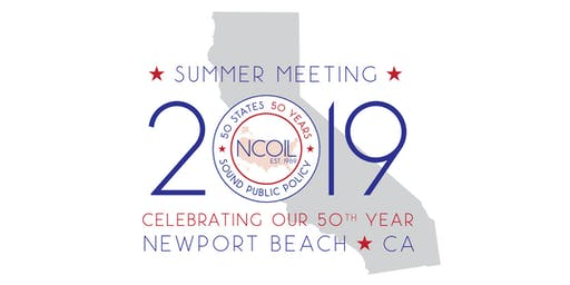 NCOIL 2019 Summer Meeting