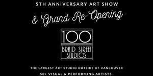 First Saturday Open Studios - 5th Anniversary Art Show
