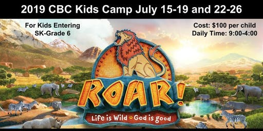 CBC's Roar Kids Camp