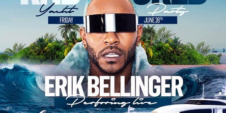 ERIC BELLINGER Performing Live In NYC Aboard The Hornblower Infinity Yacht  tickets