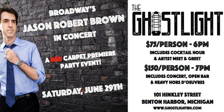 The GhostLight Premiere Party featuring Jason Robert Brown tickets