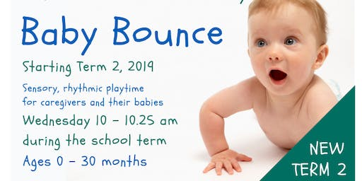 New in Term 2, 2019 - Baby Bounce
