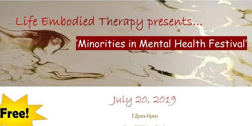 Minorities In Mental Health Festival