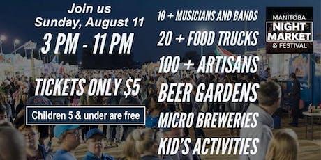 Manitoba Night Market & Festival tickets
