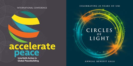 Accelerate Peace Conference Circles of Light Gala tickets