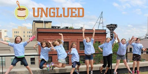 Unglued Kids' Summer Camp: K-3rd grades July 29-Aug 1