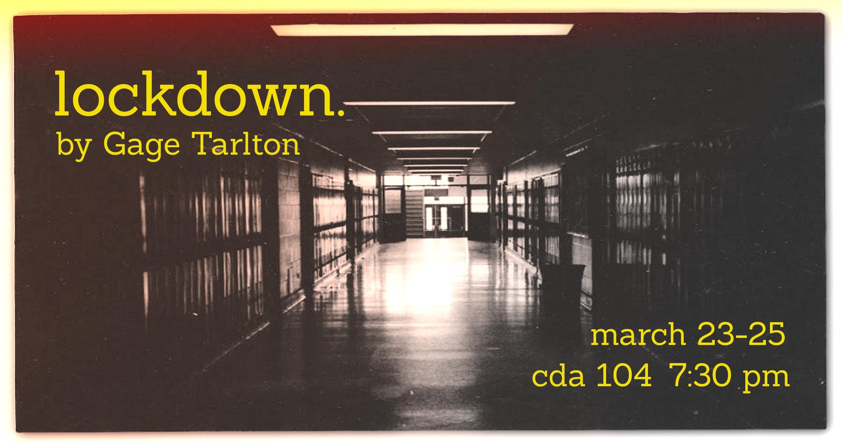 lockdown. (Monday Night)