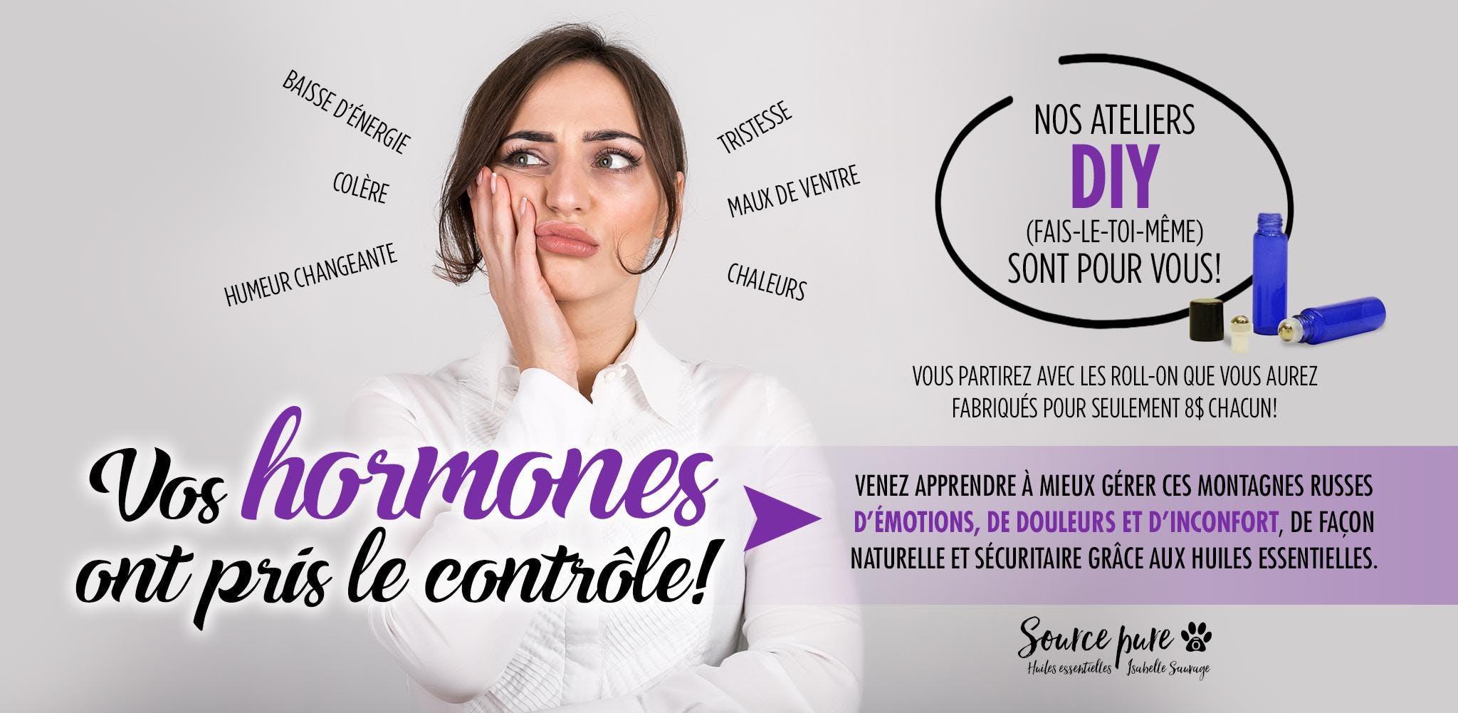 Reprenez le contrôle sur vos hormones!