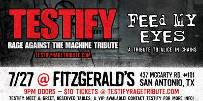 Tribute Night: Testify & Feed My Eyes