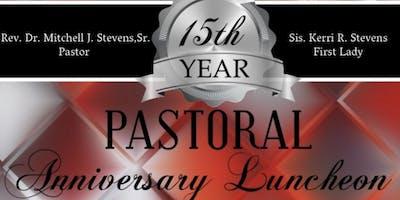 15th Pastoral Anniversary Luncheon Rev. Dr. Mitchell J. Stevens,Sr.