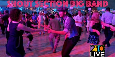 Swing Dance Party with the Shout Section Big Band
